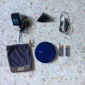 wts sony discman cd player de-j985