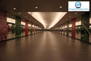 Bayfront MRT Station Singapore