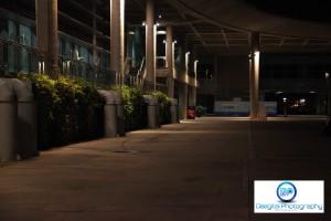 Marina Barrage Late Night Sundown Marathon Water Point by Damon Wong