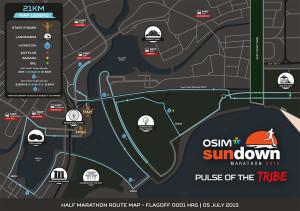 osim sundown marathon route 21km 2015