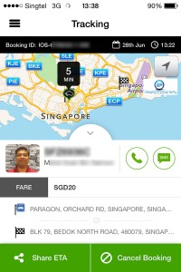 Quincy Staycation Singapore 11 grabtaxi