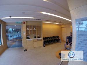 Double Tree Hotel Hilton JB Johor gym